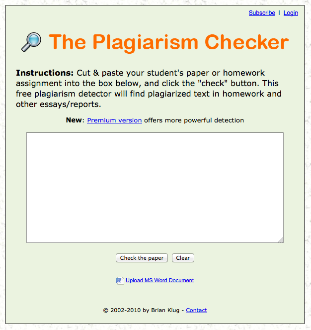 Best Free Online Plagiarism Checker